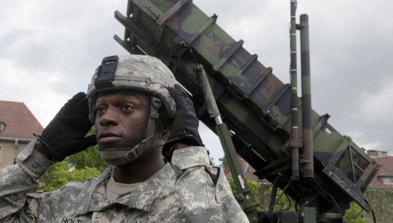 Черные солдаты армии США