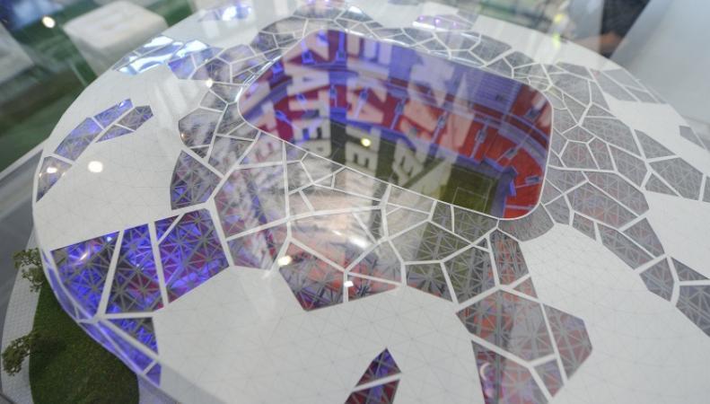 Макет стадиона в Екатеринбурге к ЧМ-2018