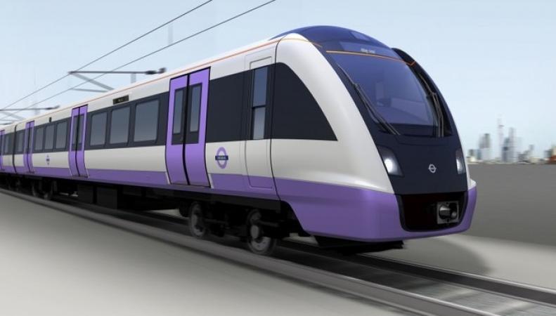 скоростная электричка Crossrail