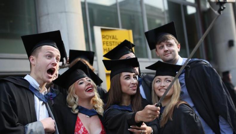 британские студенты