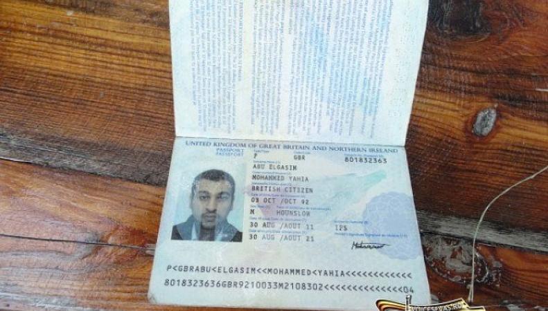 Документы британских суданцев, воюющих на стороне Украины