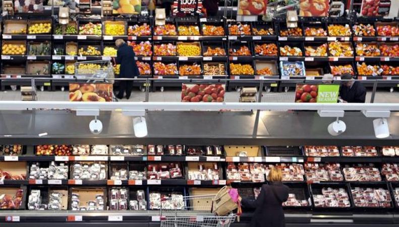 5% выброшенной еды приходится на супермаркеты