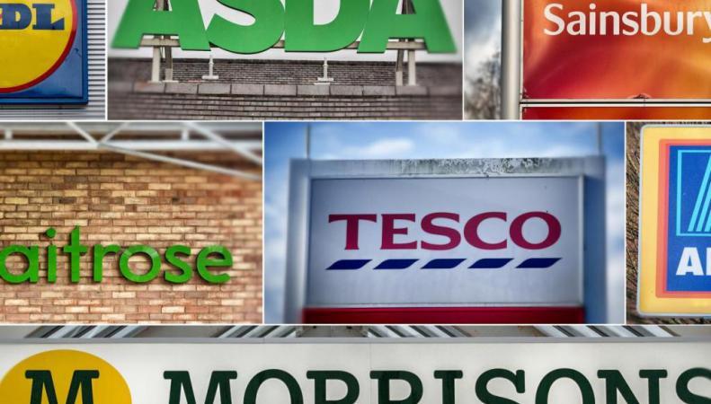 британские супермаркеты