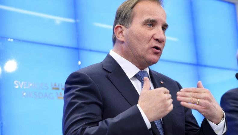 Премьер-министр Швеции Стэфан Левен