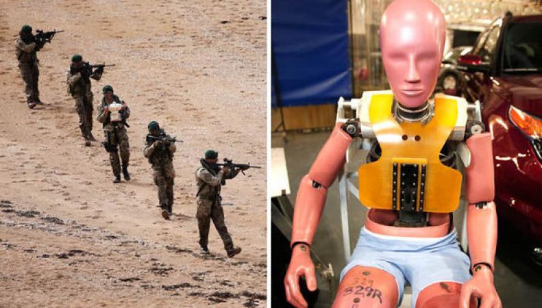 Британский спецназ борется с ИГИЛ с помощью армии манекенов