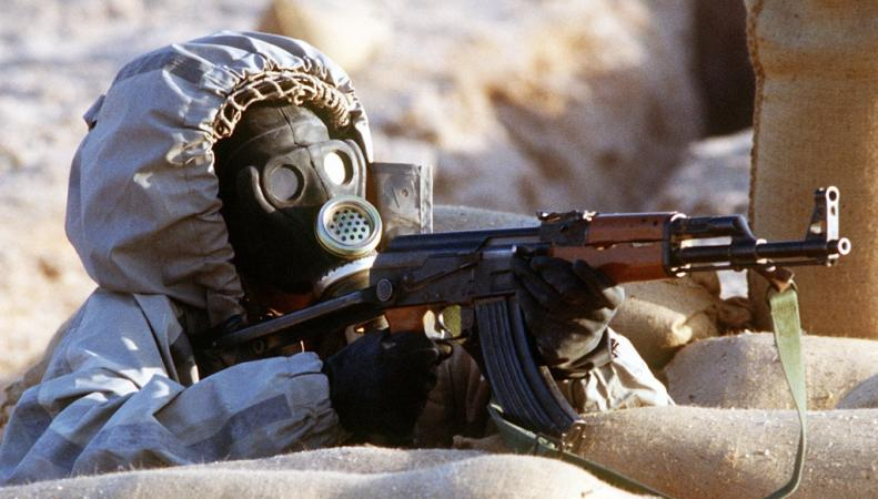 угроза химической атаки