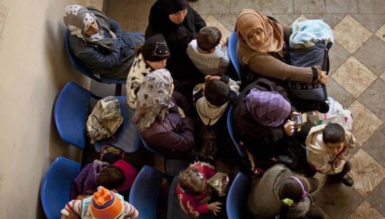 беженцы с детьми