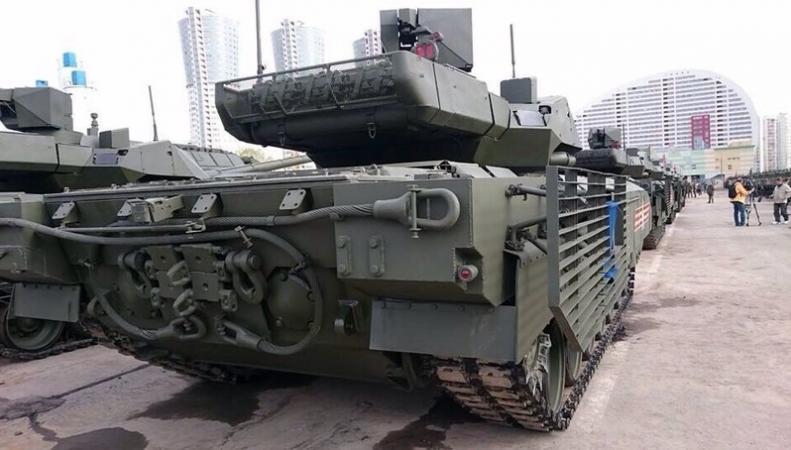 Танк Армата скопитован с немецкого прототипа
