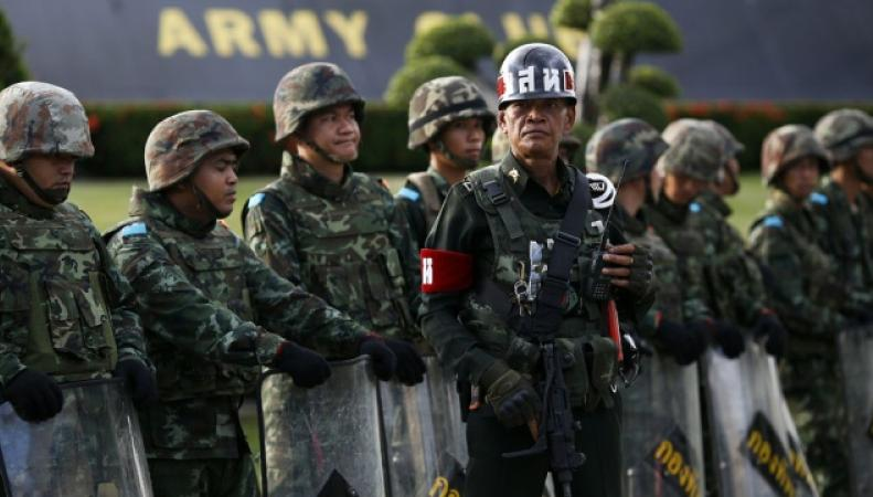 переворот в Таиланде