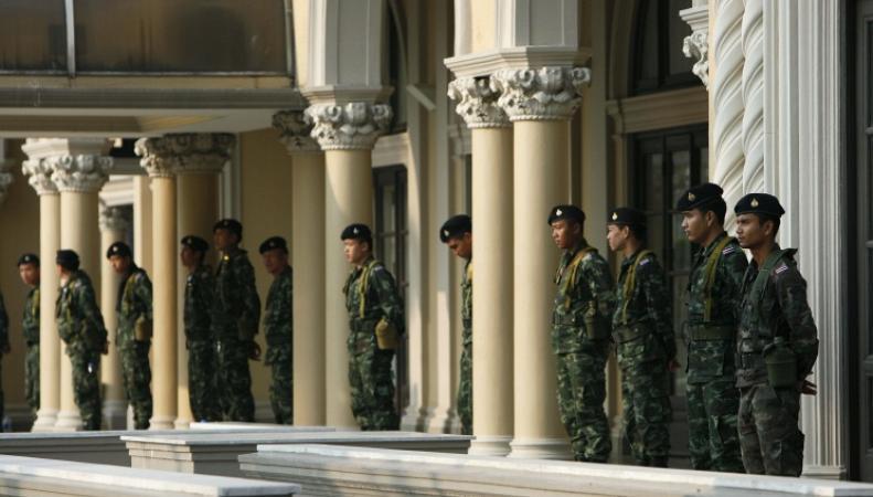 Военнослужащие Таиланда