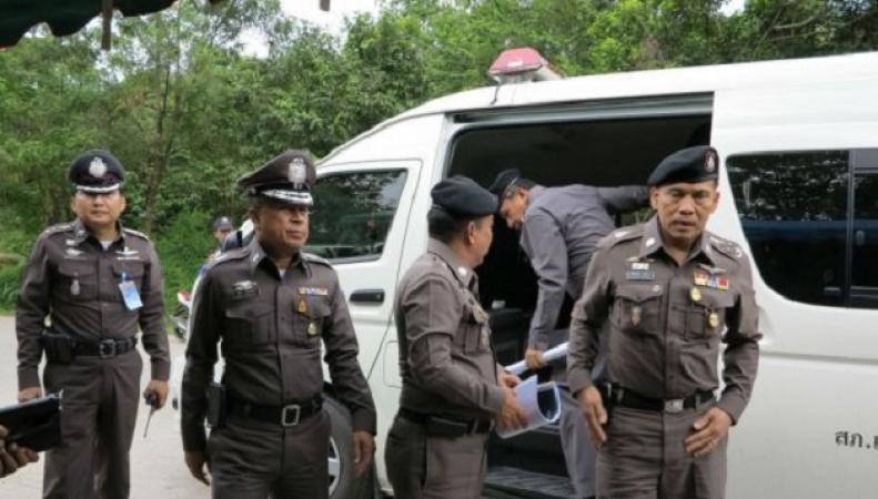 Спецоперация полиции Тайланда по поиску работорговцев
