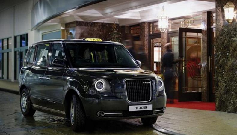 Компания Geely представила новое лондонское такси