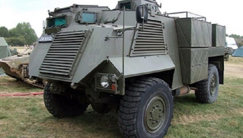 Украинская армия получила очередную партию бронетехники Saxson из Великобритании