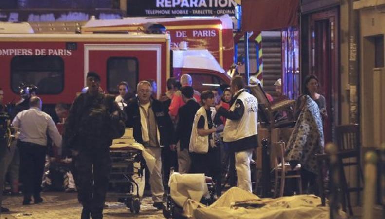 Теракты в Париже, захват Батаклан