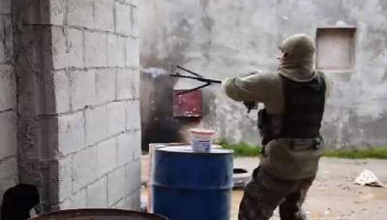 британский солдат в Сирии