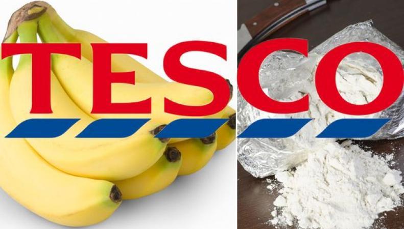 кокаин в коробке с фруктами