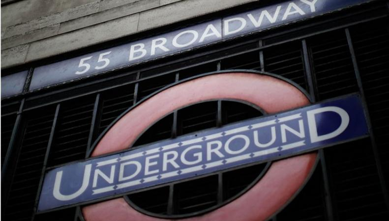 Логотип лондонского метро