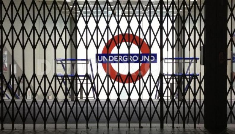 закрытое метро