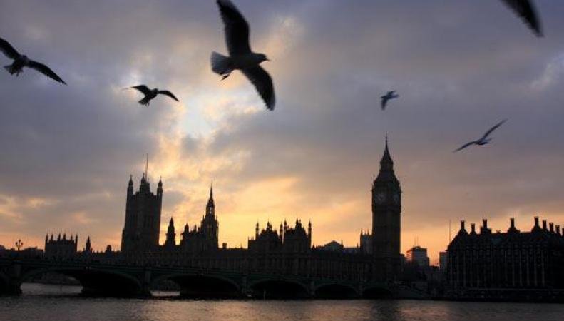 Вид на Лондон с Темзы