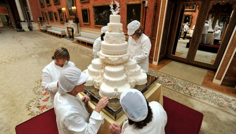 Торт со свадьбы Кейт Миддлтон и принца Уильямса