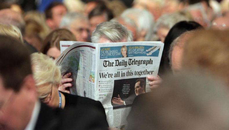 читатель The Telegraph