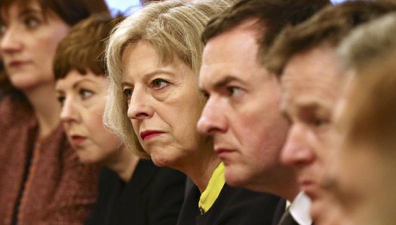 Заседание кабинета министров правительства Кэмерона