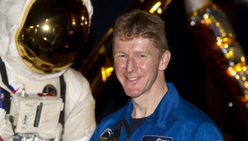 Британский астронавт Тимоти Пик станет первым марафонцем в космосе