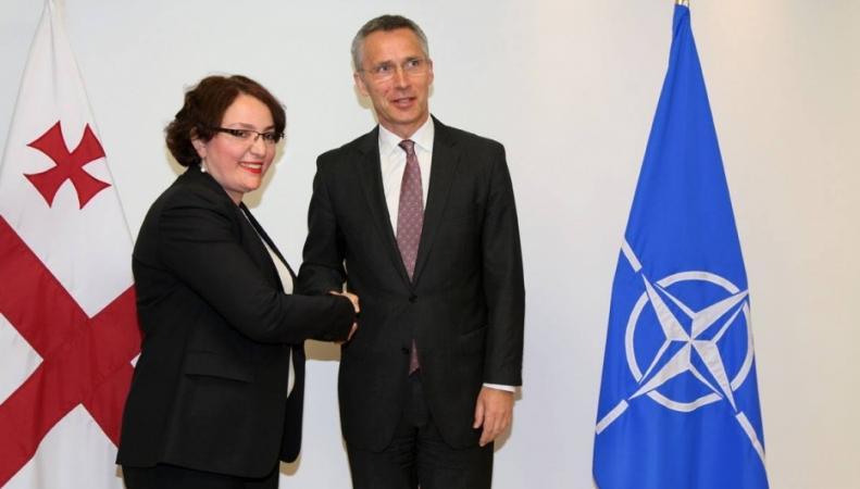 Грузия торопится вступить в НАТО