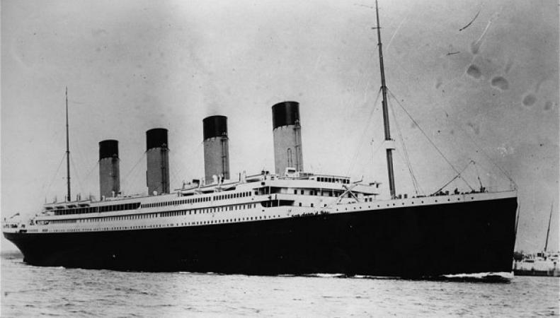 Страхование пассажиров Титаника