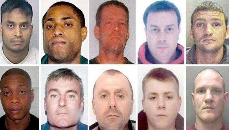 Десять опасных преступников