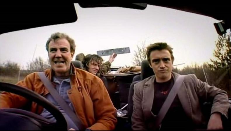 Начало нового шоу бывших ведущих Top Gear
