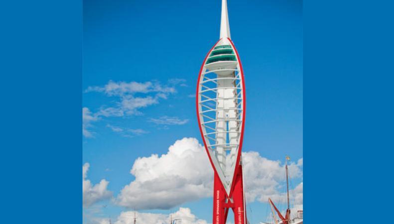 Обзорная башня в Портсмуте