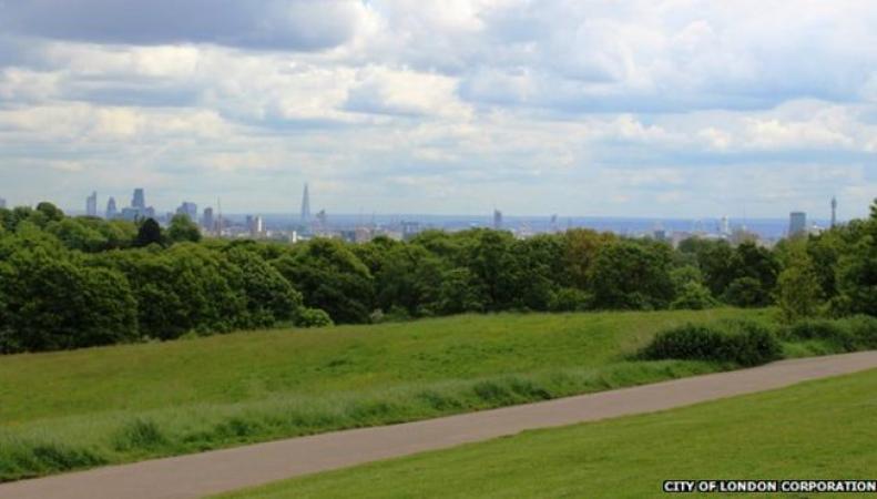 Лондонские парки содержатся в полном порядке