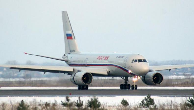Самолет первых лиц России тайно приземлился в киевском аэропорту