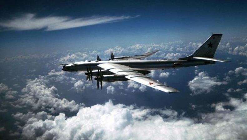 Российские бомбардировщики пролетели рядом с английским воздушным пространством