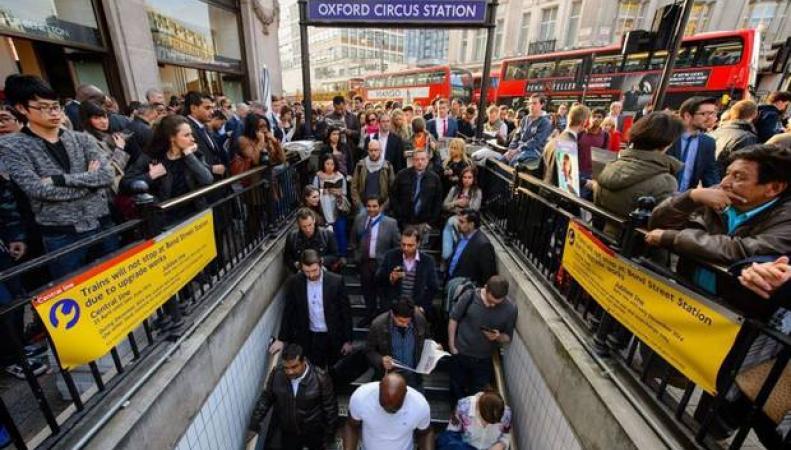 Центральная линия лондонского метро