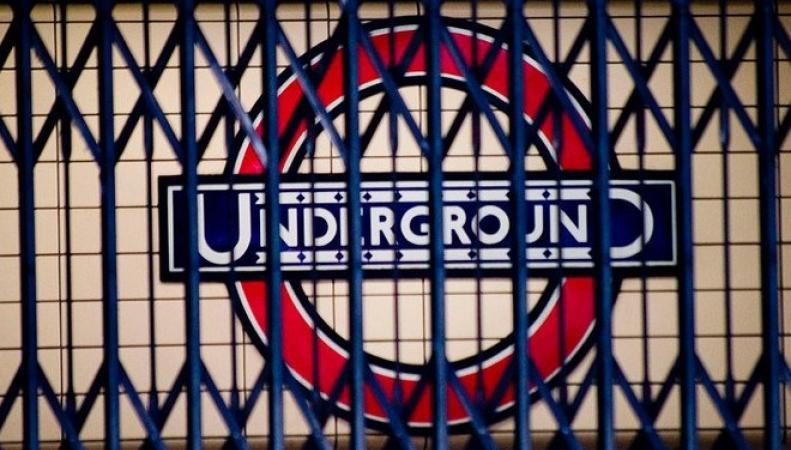 лондонское метро закрыто