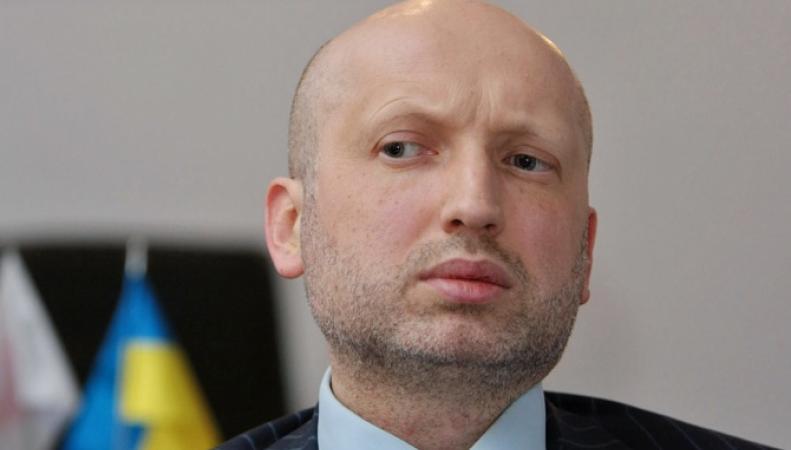 Действующий президент Украины Александр Турчинов
