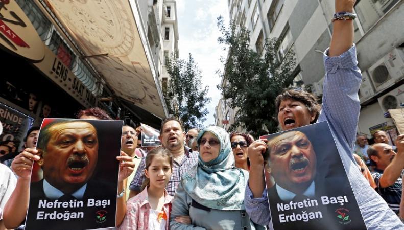 Политические процессы в Турции