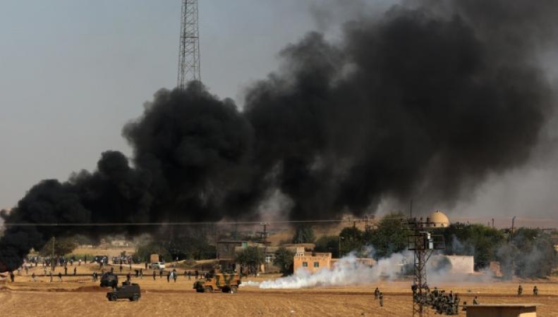 Авиаудары по нефтяным заводам в Сирии