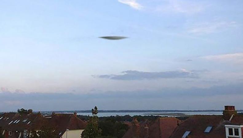 НЛО над Портсмутом