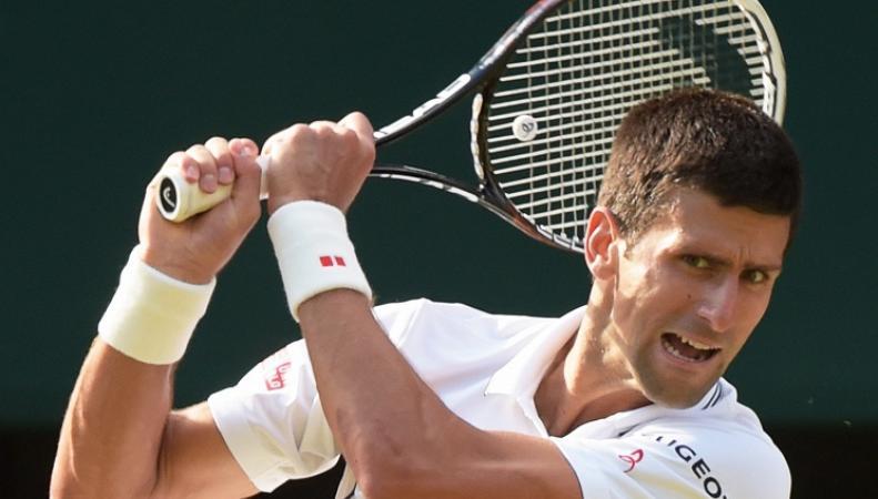 Сербский теннист Новак Джокович