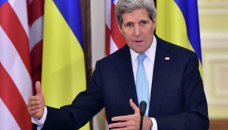 Джон Керри поторопился поздравит Украину с Днем Независимости