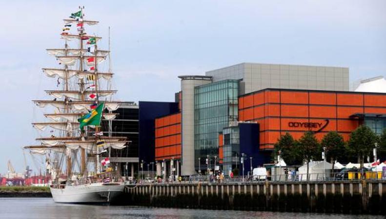 парусная регата в Белфасте