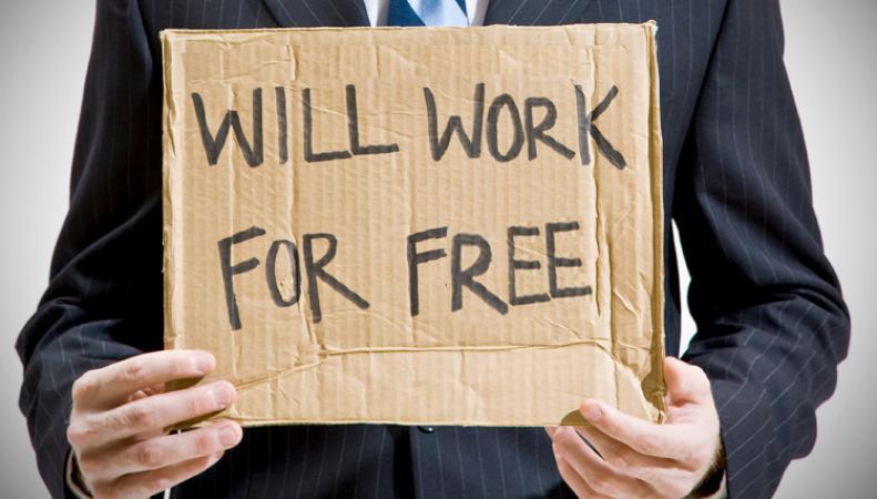 стажировка - возможность поработать бесплатно