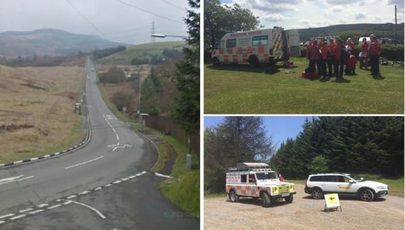 спасательная служба в Уэльсе