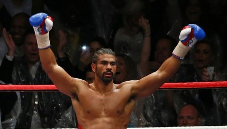 Британский боксёр Хэй вернулся на ринг с победой