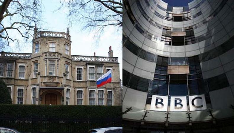 Ответ российского посольства в Лондоне британскому изданию ВВС