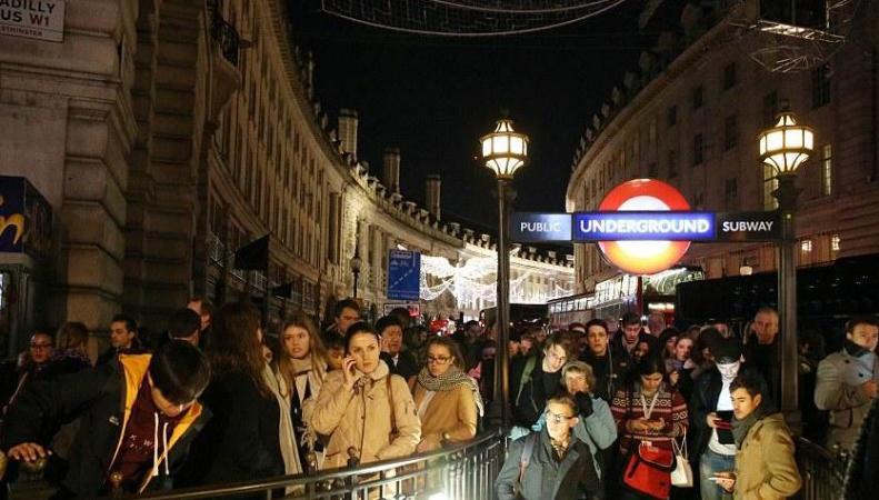 Вцентре Лондона случилось масштабное отключение электричества