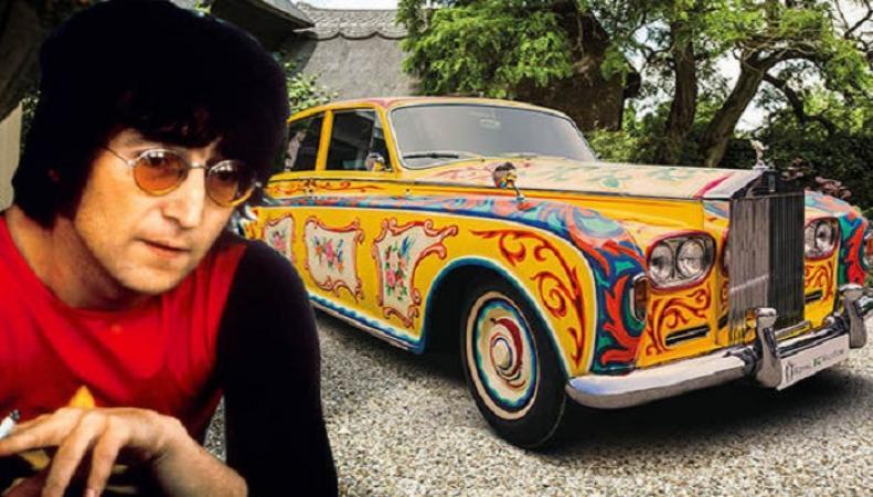 Rolls-Royce Джона Леннона  возвращается в Лондон